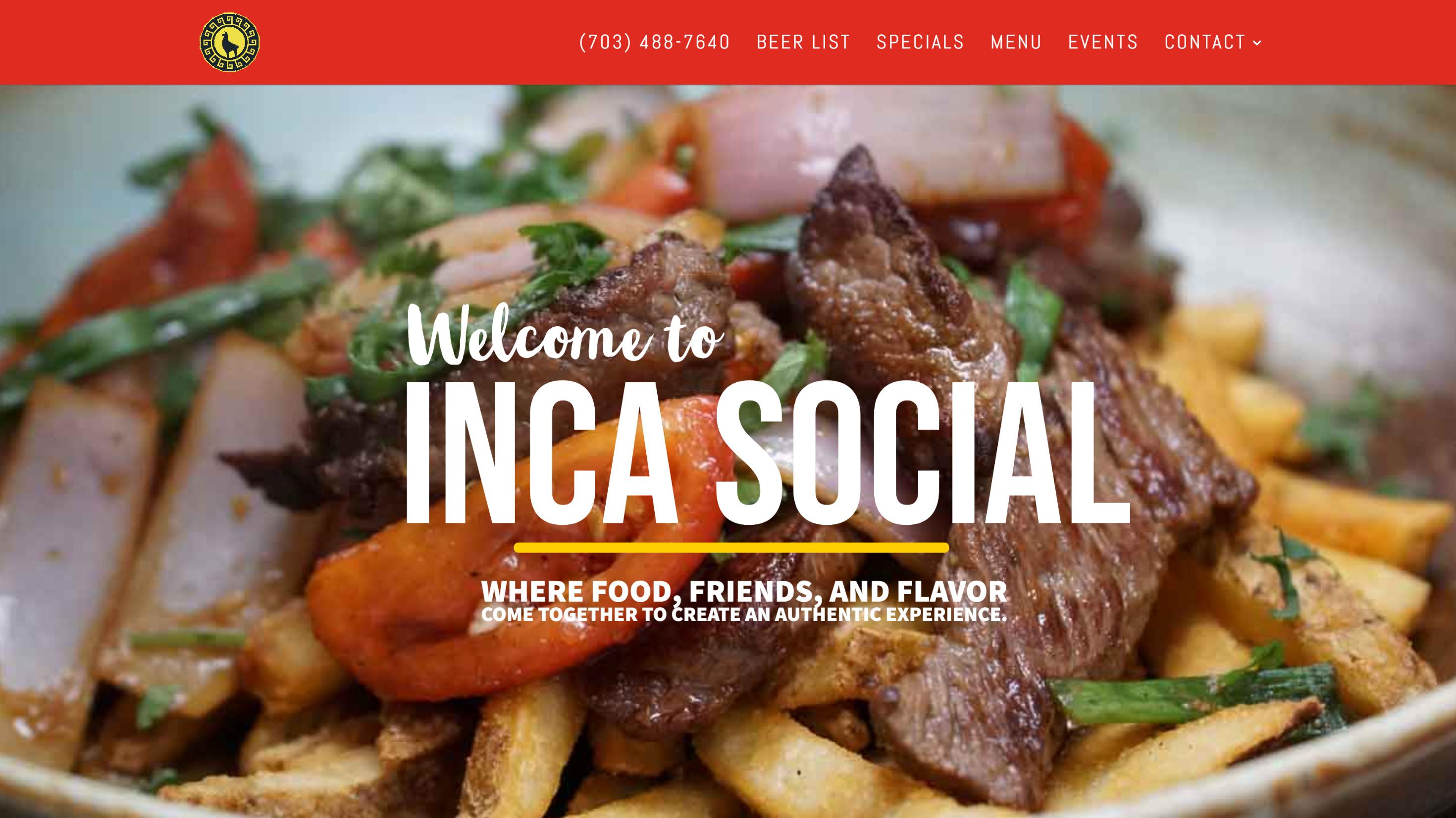 Inca Social Website