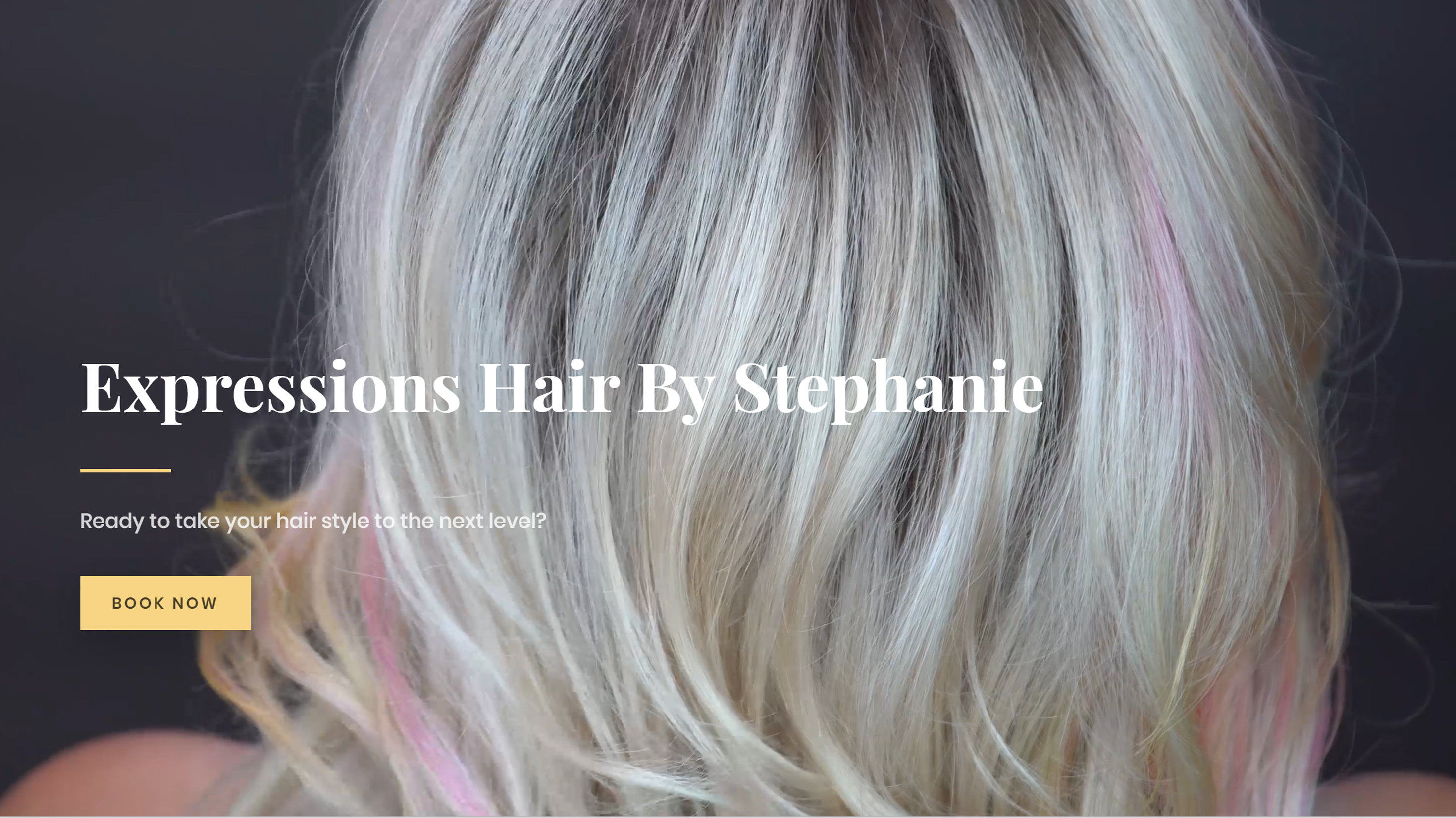Expressions Hair by Stephanie Website